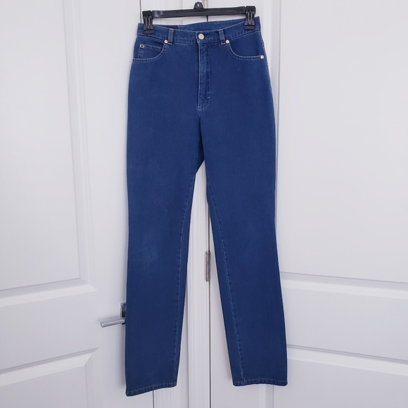 Escada High Wasted Denim Jeans Size 34 US 4